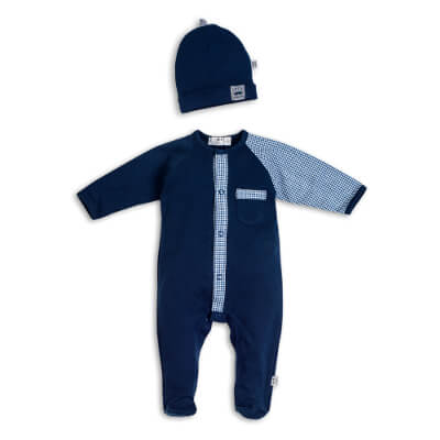Sleepsuit and hat Little Gentleman