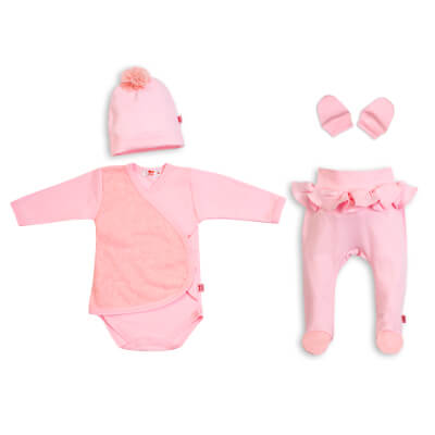 Baby Set 4 el. pink Lilly